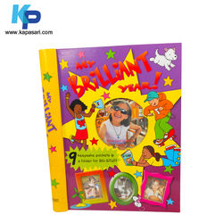 Customized high quality spiral bound binding children book printing services