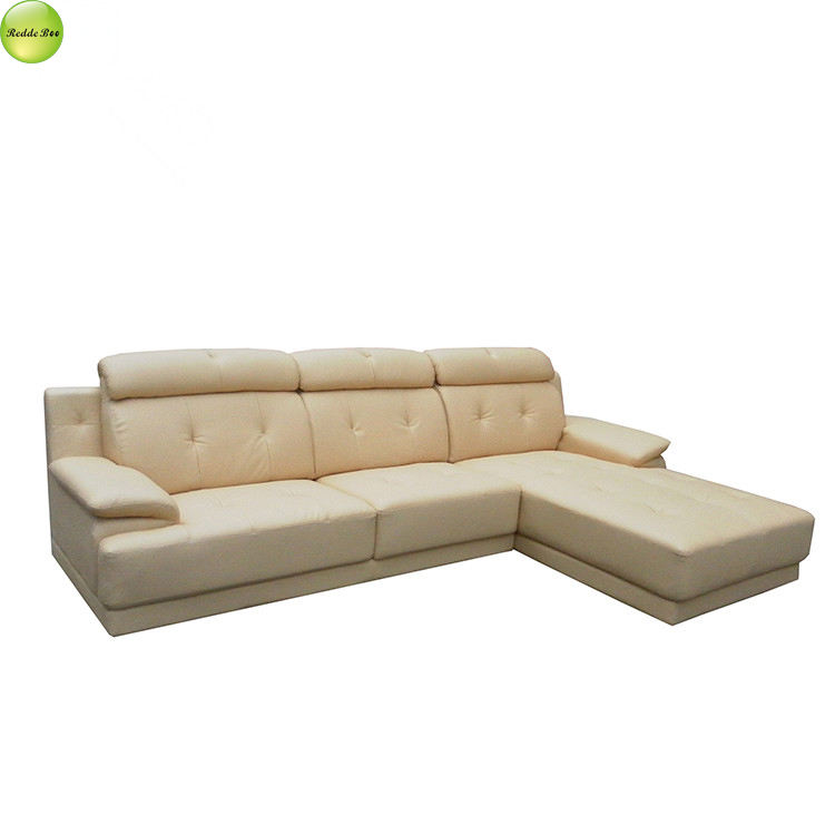 Furniture lifting equipment beige new design sofa set6201