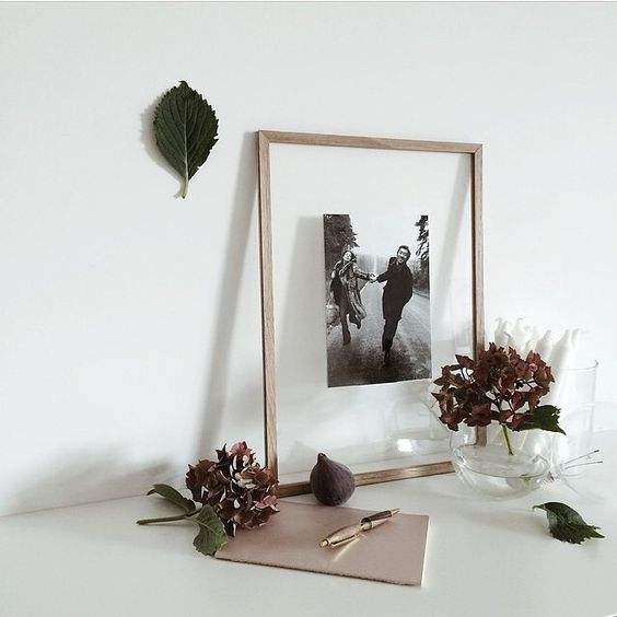 High quality Float Wood Picture Frames Artwork Display Double Glass picture frames