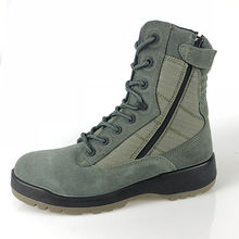 Wholesale Real Leather High Ankle Tactical Army Combat Boots