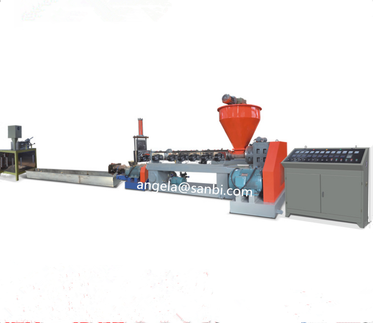 PLA Biodegradable & PE Film Plastic Recycling Machine