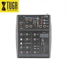 Wholesale mini pyle 5 channel audio mixer