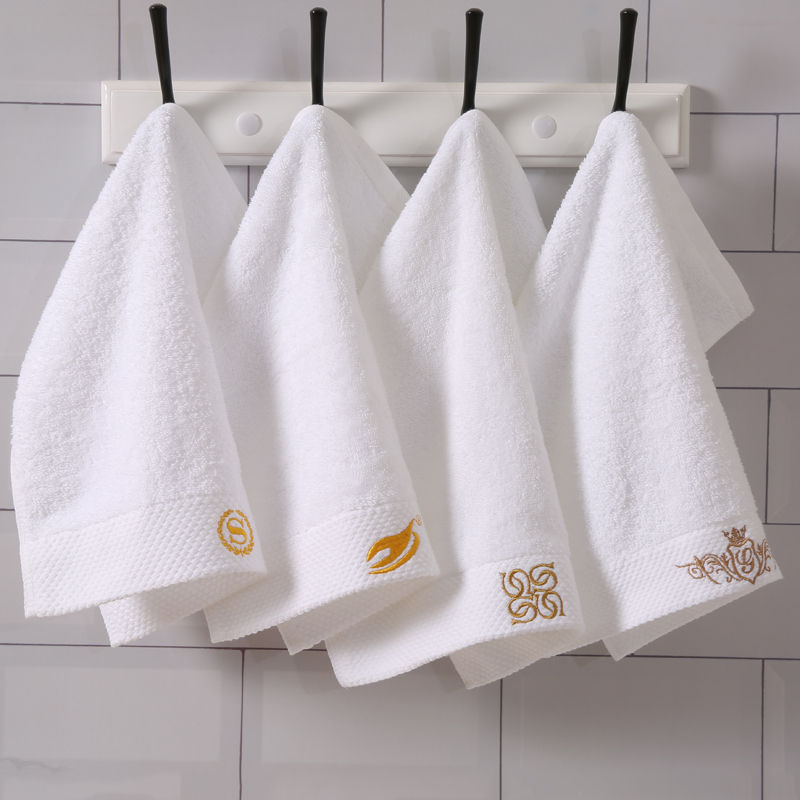 men personalize luxury fresh face towel with embroidery