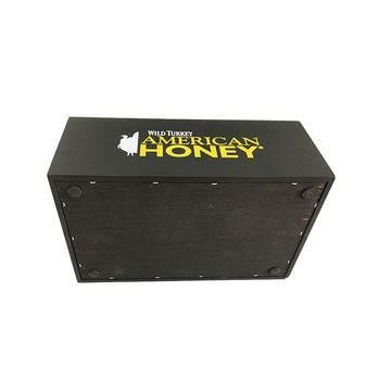 Custom barcadi plastic bar caddy bar organizer with 6 compartments