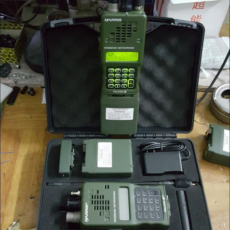 Tca An/Prc 152A (Uv) tactische Cs Militaire Mbitr IPX7 Vhf Uhf Multifunctionele Walkie Talkie Zus Harris Tri Prc 152