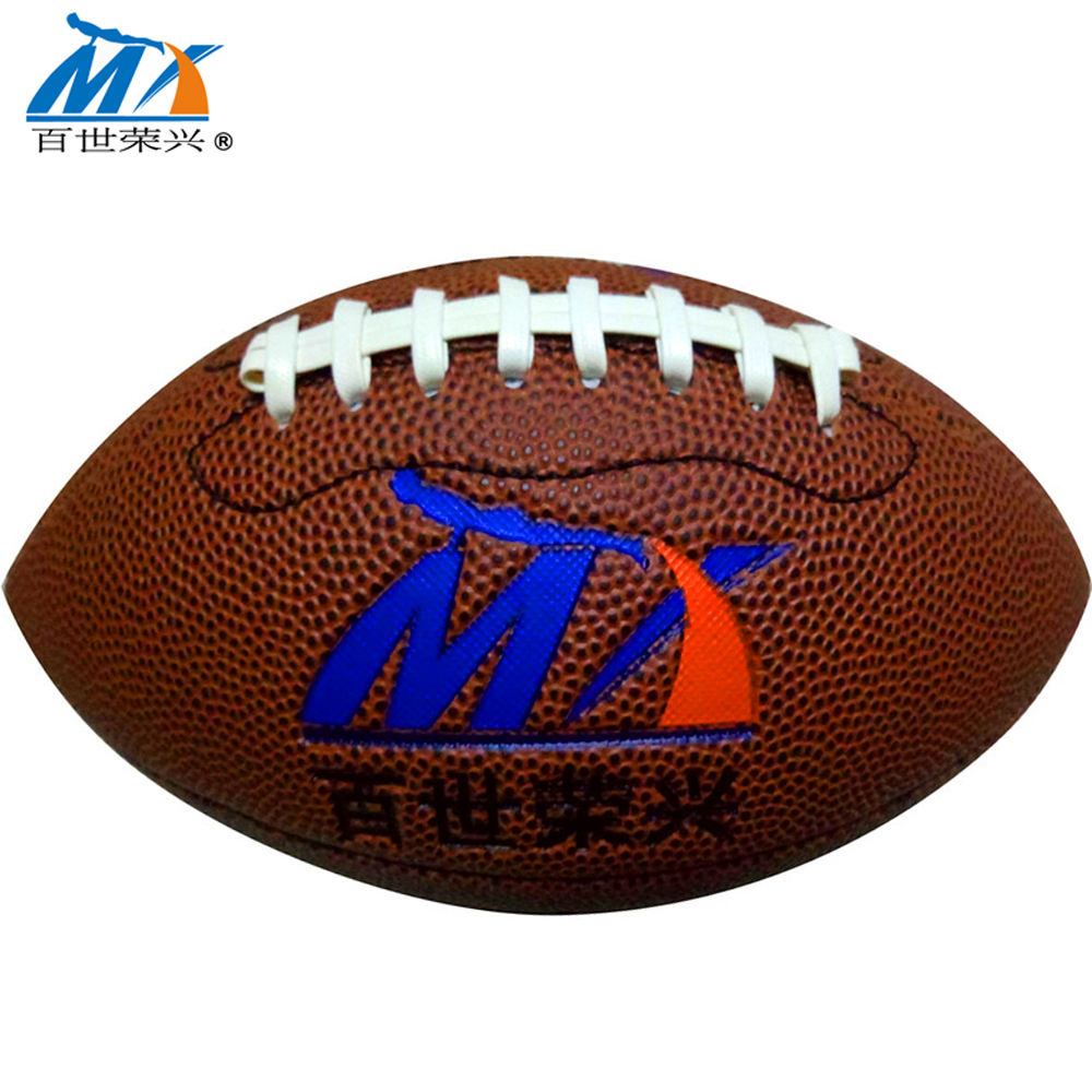 inflatable pvc 3 size mini gift baby toy American football