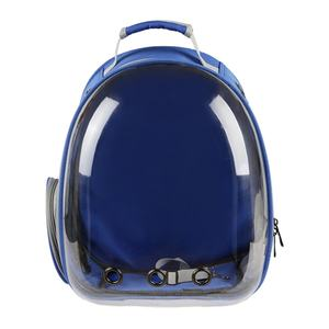 Capsule New Pet Space Backpack Cat Pack Chest Full Transparent Backpack Dog Creative Shoulder Pet Bag