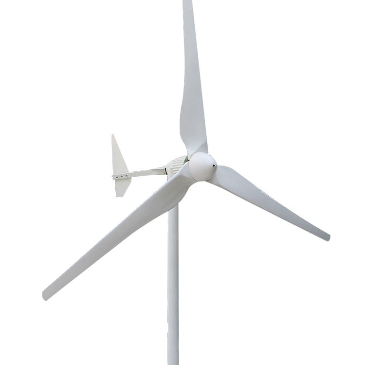 1KW 2KW Horizontal Wind Turbine Generator For Home And House Using