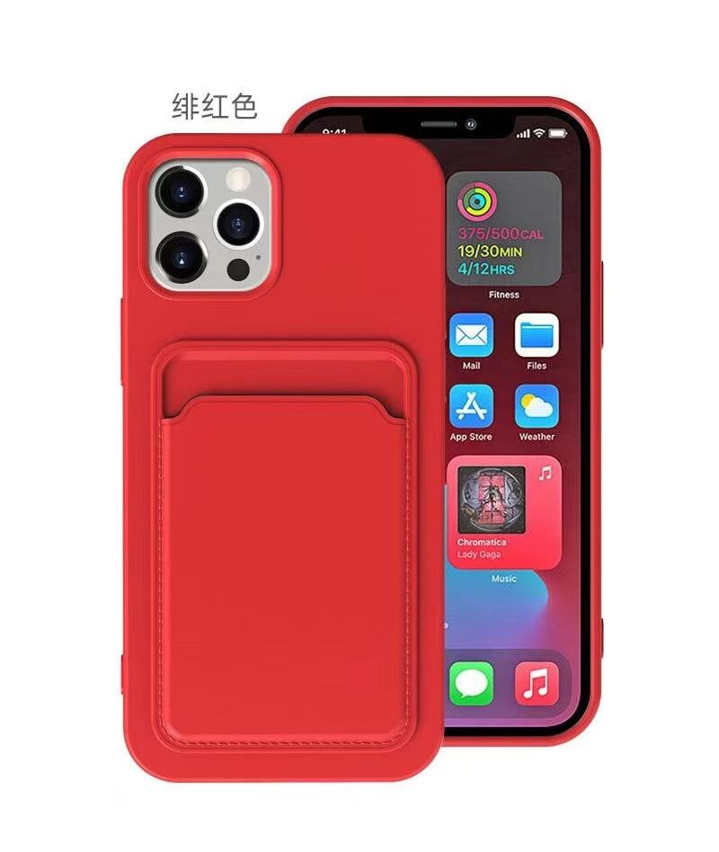 Voor Iphone 12 Mini 12 Pro Max X Xs Xr 11 7 Telefoon Case Zak Credit Card Pocket Ontwerp, voor Iphone 8 Plus Shockproof Case