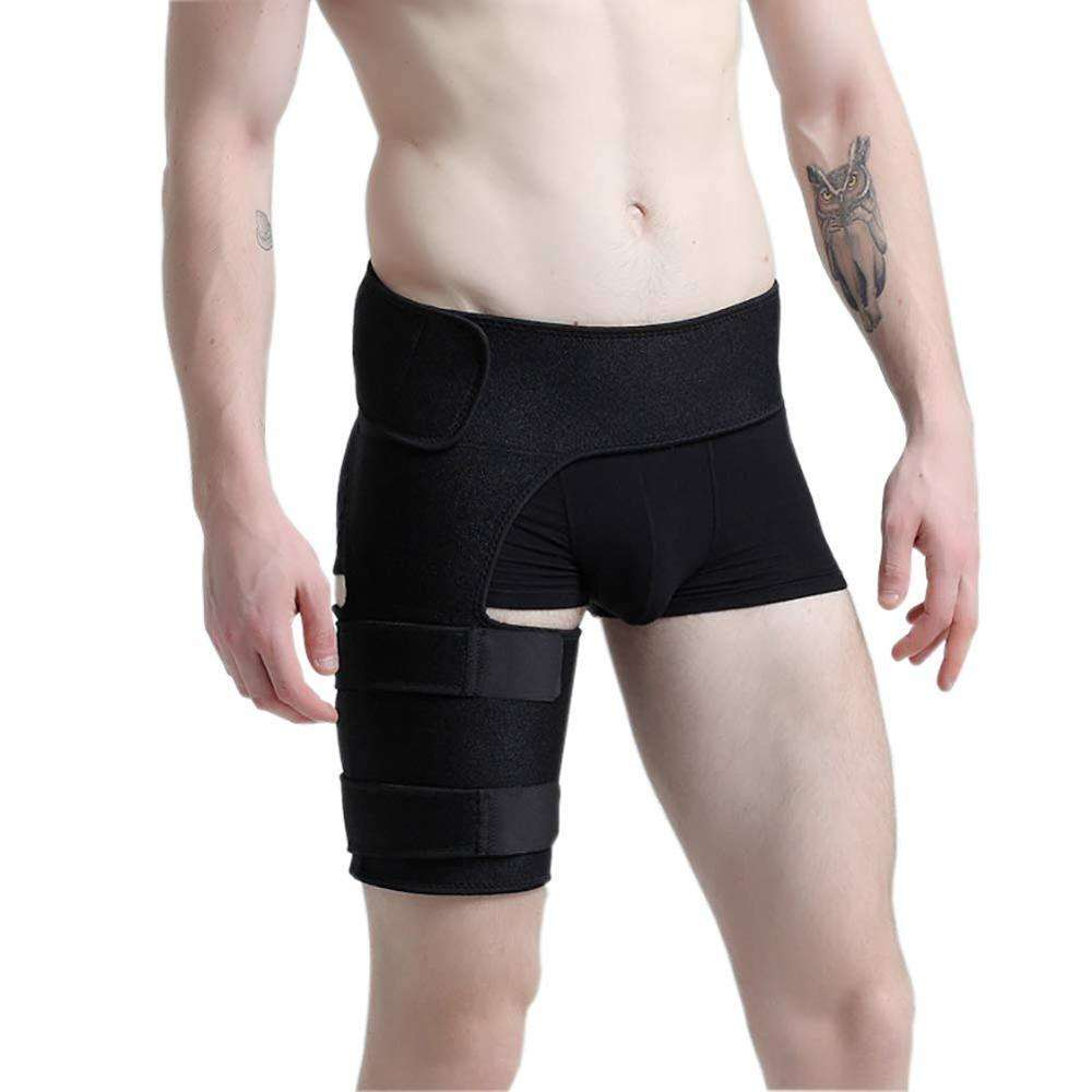 OEM Compression Wrap Groin support and Hip brace for men and women