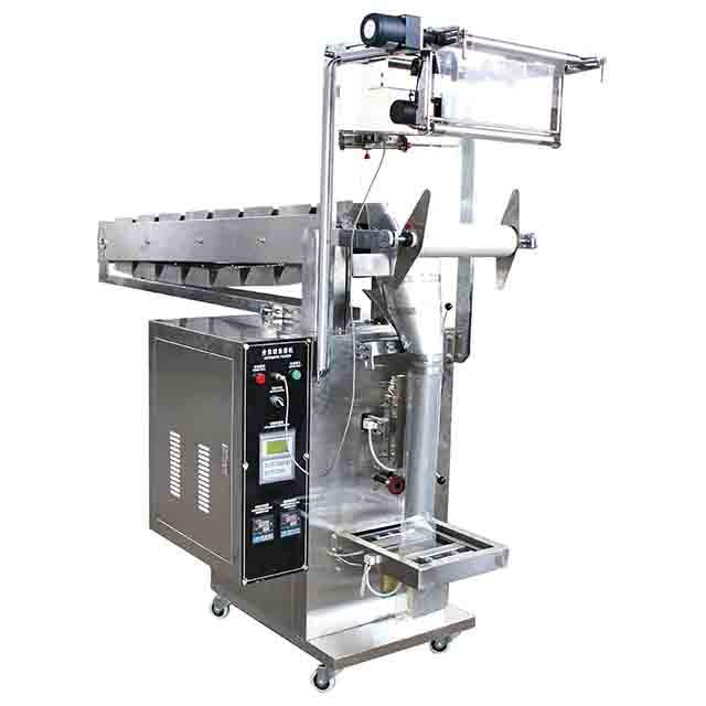 Small automatic apple lays jackfruit cassava potato chips snack packing machine with nitrogen flushing