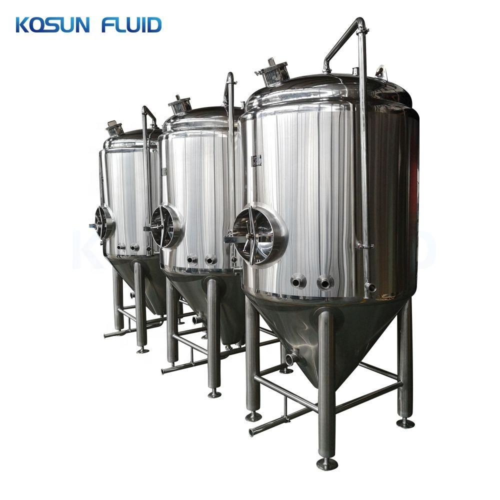 50l 100l 200l 500l 1000l stainless steel wine beer conical kombucha pressure homebrew tank fermenter