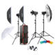 Godox SK400II x3 Flash Kit 400Ws 2.4G Bowens Mount Strobe Flash Kits for Photographic Lighting