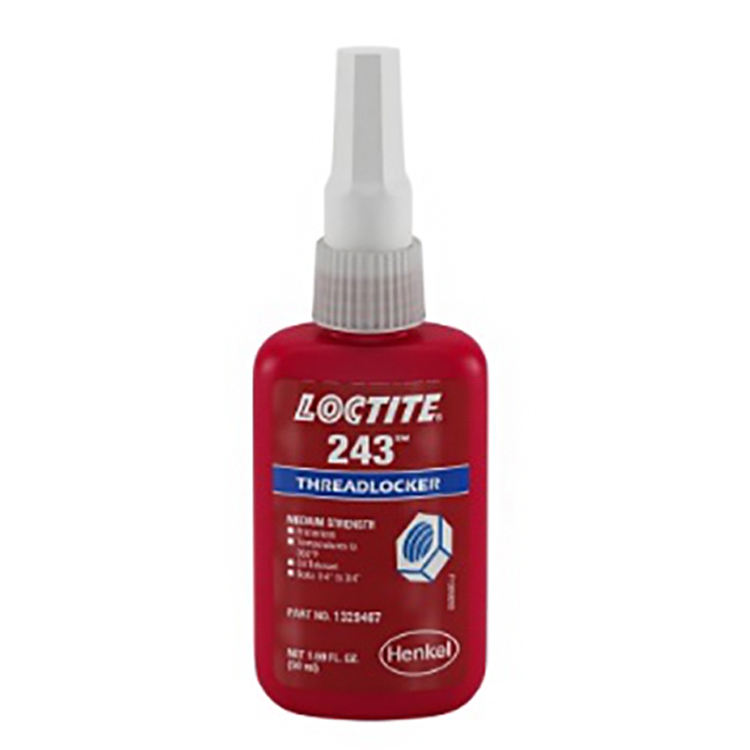 Loctite 243 Threadlocker 50 Ml Medium Bond Strength Instant Adhesive