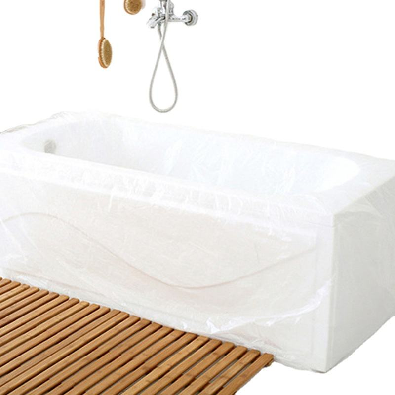 Ultra Large Disposable Plastic Bath Liner Bag Bathtub Cover For Salon Household Hotel