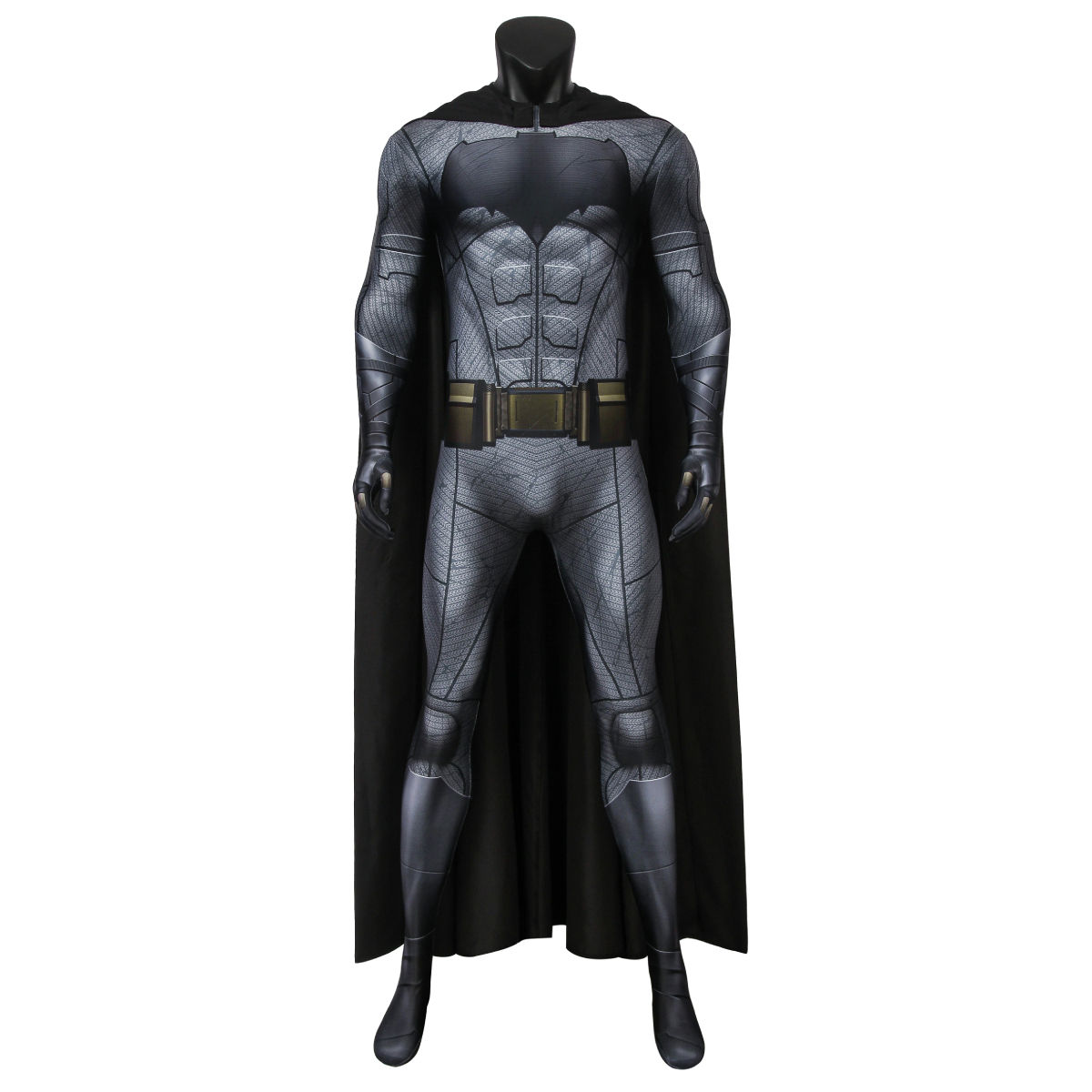 Justice League Batman Super Hero Cosplay Kostum Dewasa COSPLAY Natal Halloween Kostum Set J19043BA