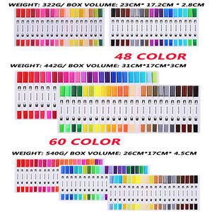 Marker Pen Art 12 Colors For Students Customized Head Box China Logo Style Graphic Double Design