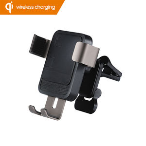 15w Smart Auto Qi Fast Charging Cell Phone Stand Holder Gravity Car Mount S10 S9 S8 S7 S6 S5 Custom Logo Wireless Charger
