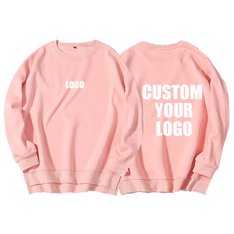 Good Quality Plain Custom Printed Women Clothing New Ladies Oversized Sweatshirt hooded shirt