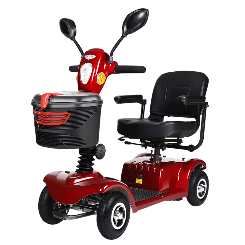 folding motorized tricycles handicapped mobility electric 4 wheel scooters