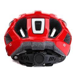 GUB A2 Helmet With Tail Light Visor Mountain helmet Cycling light Smart casco MTB Helmet Accessory USB Chargeable 9 Model Lights