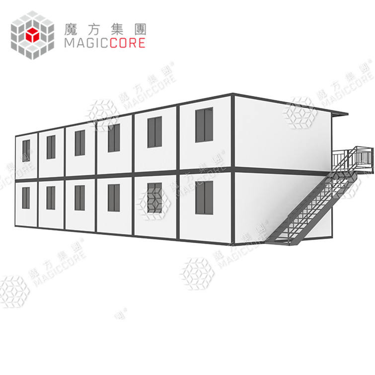 Detachable ecofriendly 40ft container apartments retail shop container home apartment