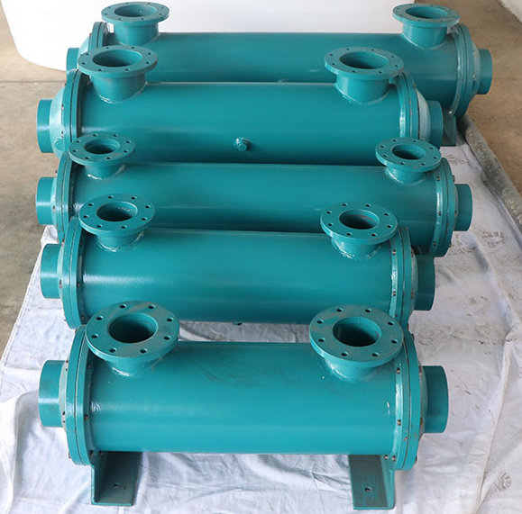 ISO9001 Fishing boat diesel engine parts K800 ~ 4000 type marine boat heat exchanger