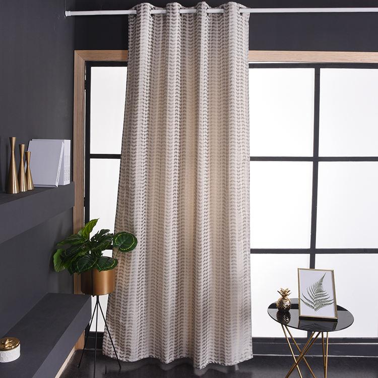 % 100% Polyester şık kumaş kumaş kanepe perde tekstil perde kumaşı ev tekstili örgü perde