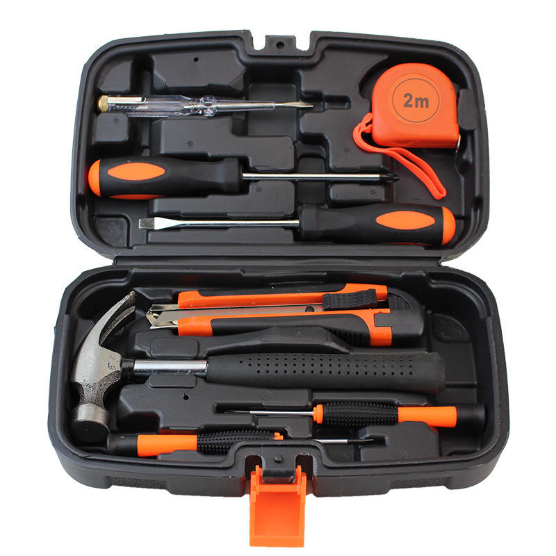 Plastic Toolbox Household Hardware Car Repair Craftsman Tool Set