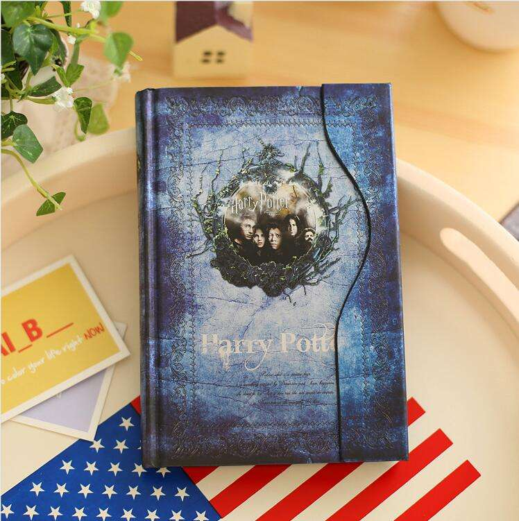 Harry Potter Tampa Do papel em Arte Notebook Magia