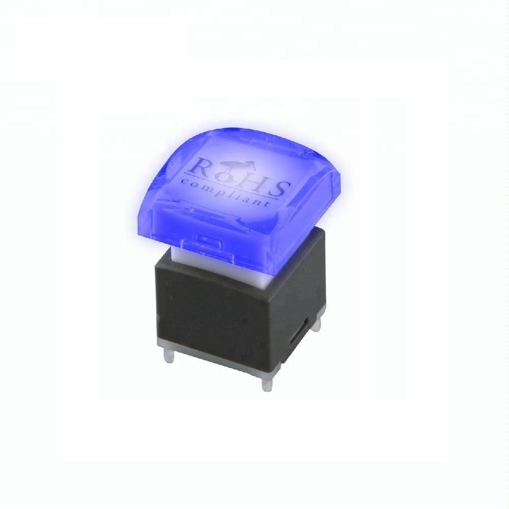 Lakeview PLC colores RGB Super duradero LED doble iluminado momentáneo <span class=keywords><strong>botón</strong></span> silencioso interruptor para consola