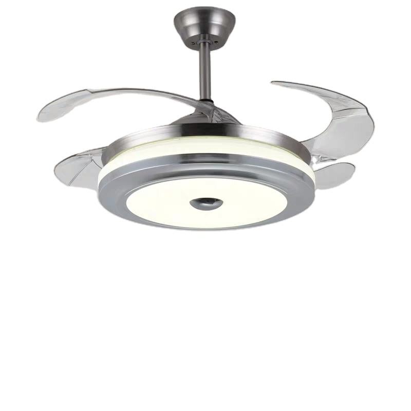 China Cheap Price Designer 42 Inch Remote Controlled Chandelier Ceiling Fan Lamp
