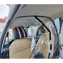 Self - Adhesive Automobile Car Taxi Transparent Seat Isolation Film Car Film Plastic PVC Isolation Film For Taxi