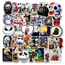 50 non-repetitive Halloween Christmas Terror stickers personalized holiday decoration graffiti stickers