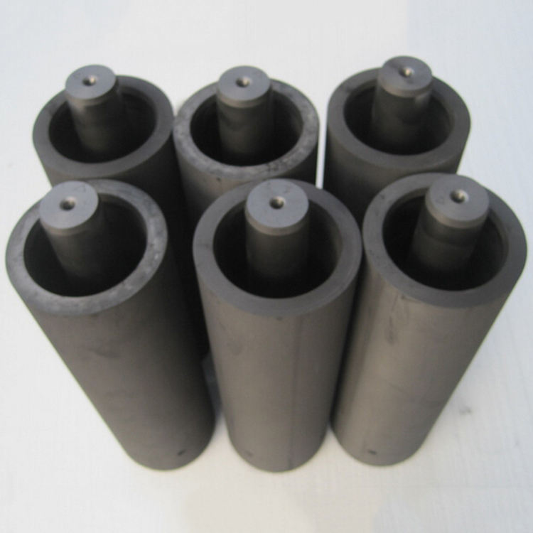 High Purity Die Molded Graphite Crucible Continuous Casting for Melting Alloy