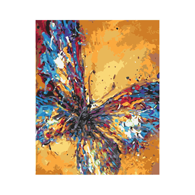 paint by numbers canvas premium painting by number kids oil painting butterfly for canvas painting paint by numbers kit