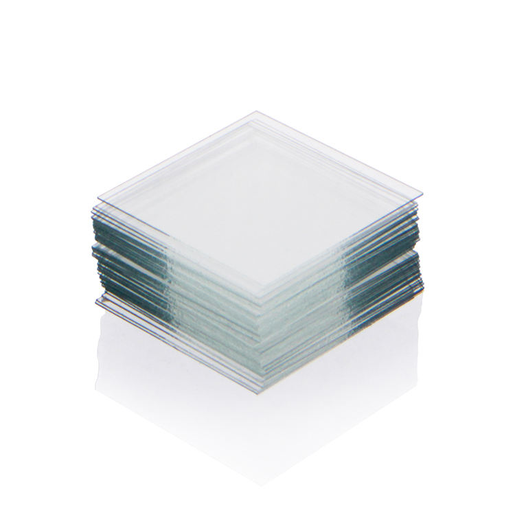 Glass square cover for biological microscope slide 18mm*18mm