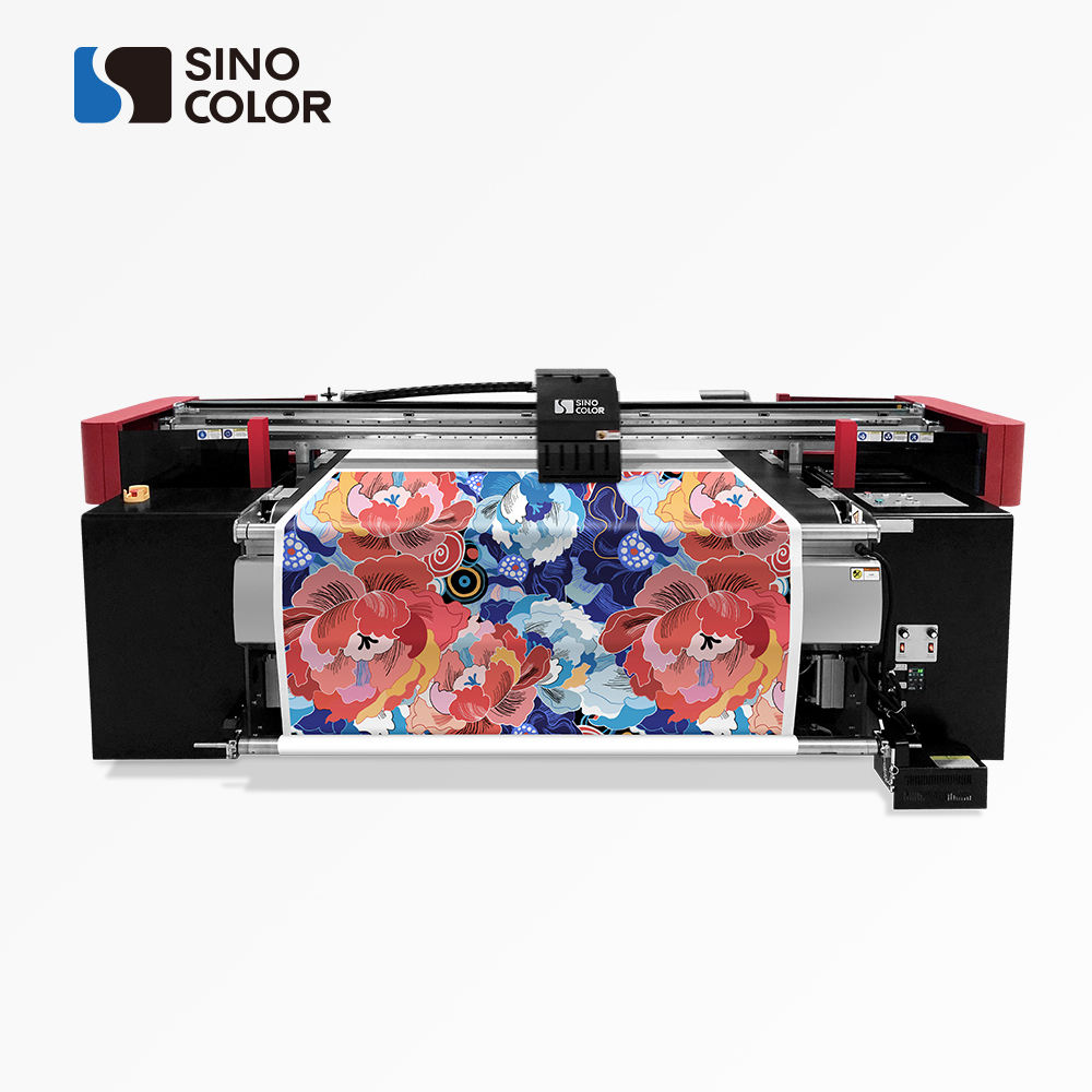 Factory Sale 1.8m 2.6m 3.2m 2/4 i3200 Heads 2400dpi Direct Polyester Cotton Wool Silk Belt Fabric Printer Machine for Fabric