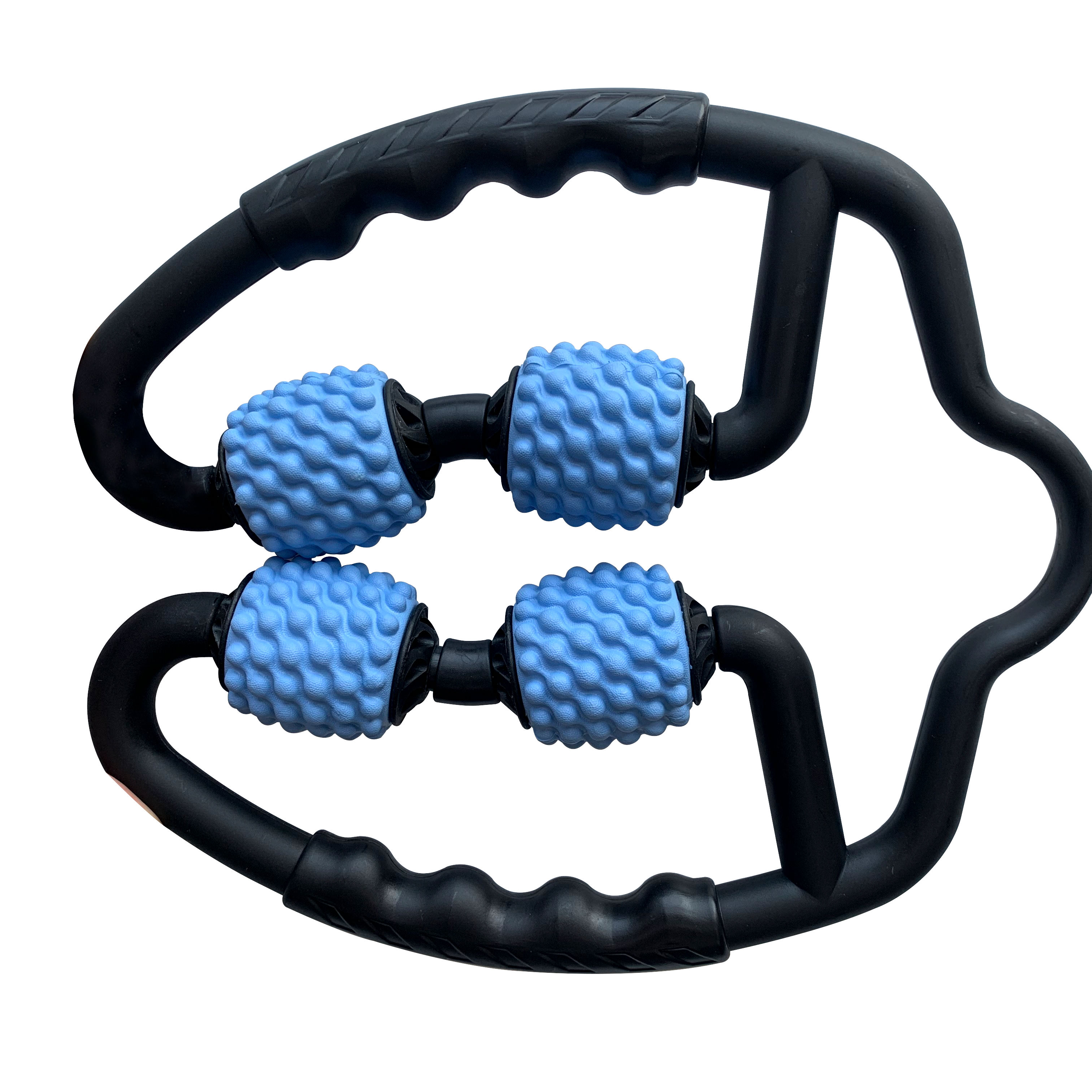 4 wheel U shape Leg body neck arms 4 massae balls massage roller for muscle relaxation