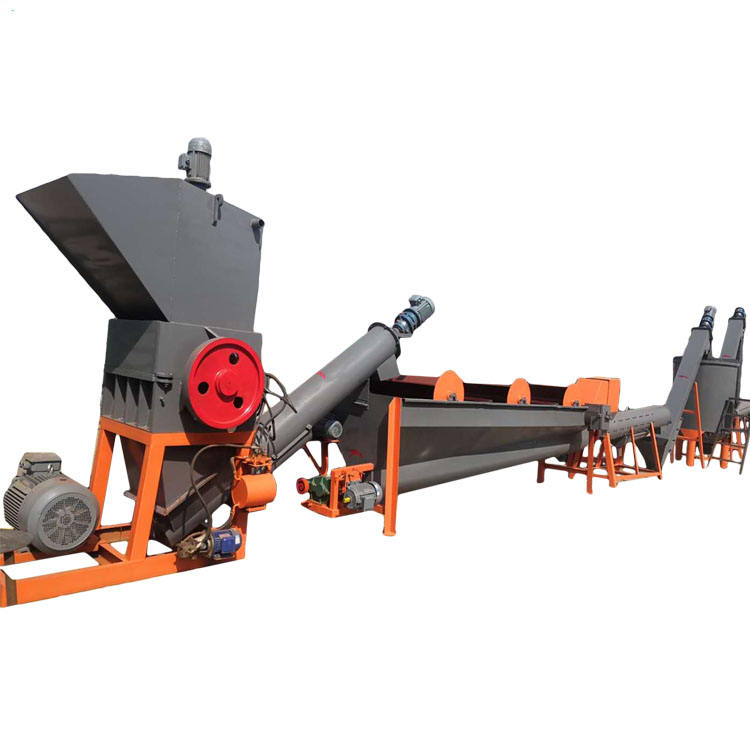 Factory price automatic washing line plastic recycling machine