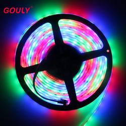 RGBW flexible led strip 5050 60leds DC12V led strip light  o