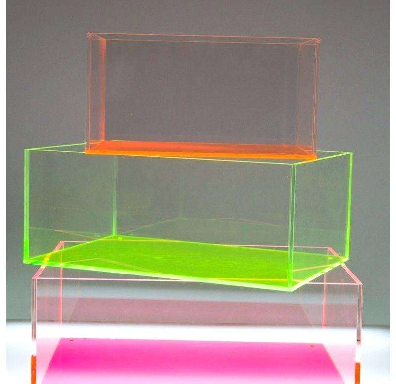 Wholesale Acrylic Box High quality Acrylic Colorful box / Jewelry Box Case / Gift boxes