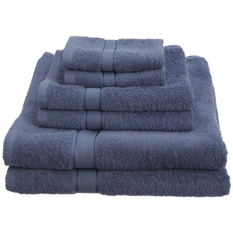 High level standards face towel hotel bath towel set 6 pieces