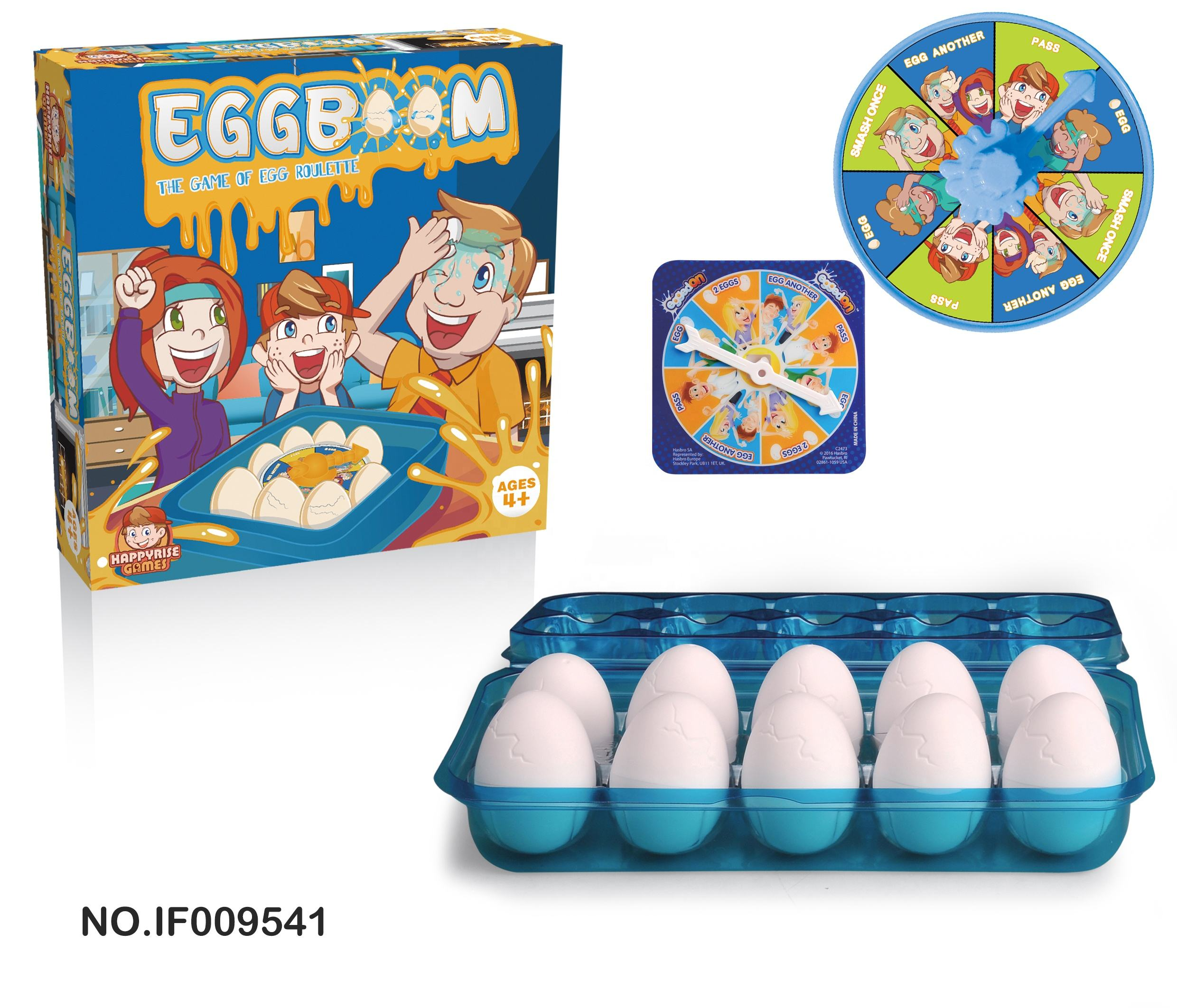 Tricky Toy Egg Boom table game of egg roulette kids toy friends family party game