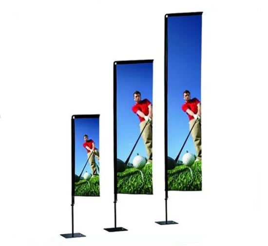 advertising wind blade vertical flag banners