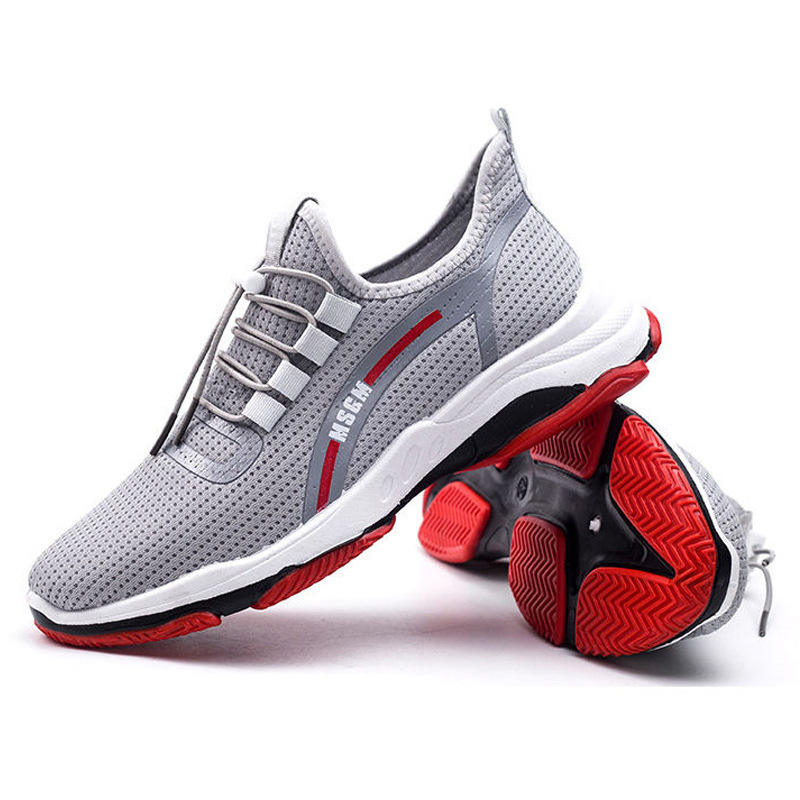 2019 New Mesh Men Sneakers Casual Shoes Lace-up Men Shoes Lightweight Comfortable Breathable Walking Sneakers Zapatillas Hombre