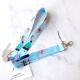 Princess Elsa Lanyard Neck Strap for ID Badge Phone Holders Keychain Unisex Cosplay Prop Cartoon Accessories Charm