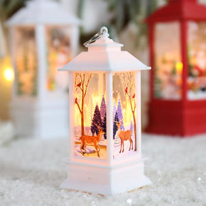Wholesale Christmas Lantern Ornaments Snowman Celebrate Christmas Decoration Supplies