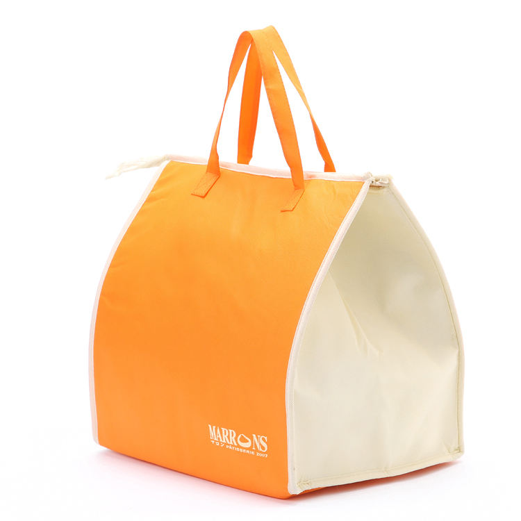 Wholesale cheap non woven cool carry thermal insulated cooler bag for frozen food