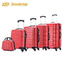 Wholesale Abs 360 degree carry on trolley travel suitcase sets hard shell luggage trolley bag sets cart